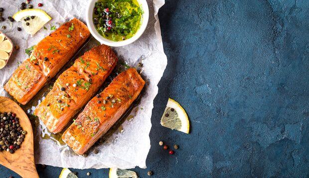 Omega-3-Fettsäuren aus Lachs sind super gesund
