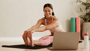Ommmm mit Online-Yoga