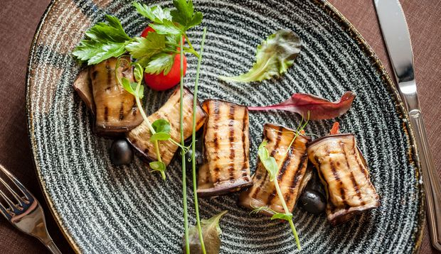 Osterbrunch: Lachs-Zucchini-Röllchen