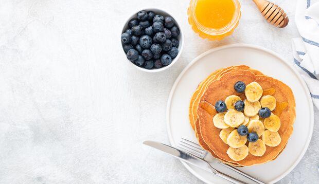 Osterbrunch: Pancakes mit nur 4 Zutaten