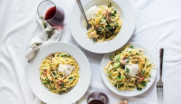 Pasta enthält zu viele Kohlenhydrate