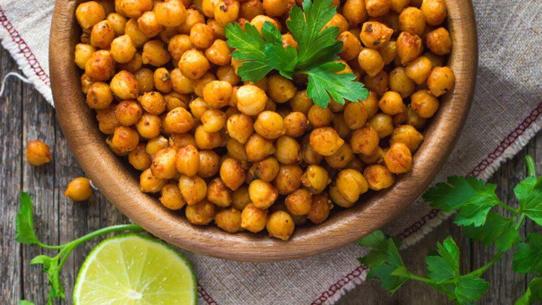 Pflanzliche Lebensmittel mit Vitamin B6: Kichererbsen