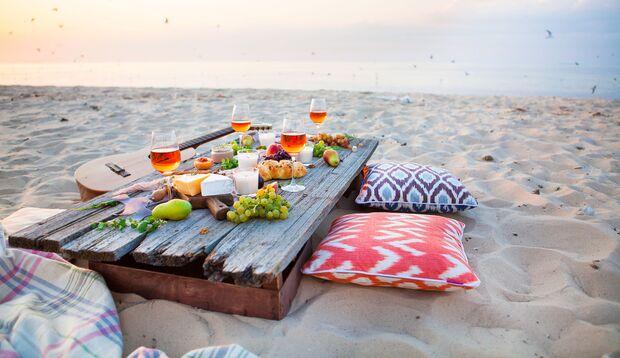 Picknicken am Meer – ein Traum