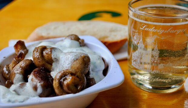 Pilze enthalten am wenigsten Kalorien