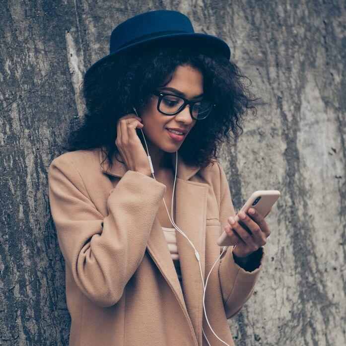 Podcasts, die glücklich machen