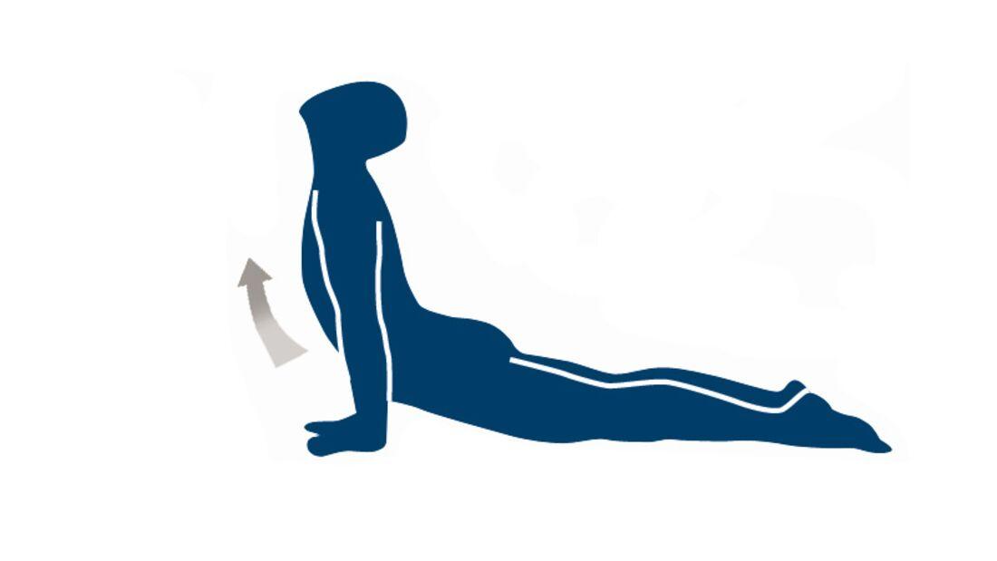 Position 5: Einatmen