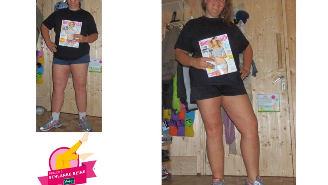 Projekt Schlanke Beine 2015: Karoline (33) aus Gemünden