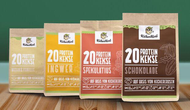 Protein-Softcookies: KicherKerle