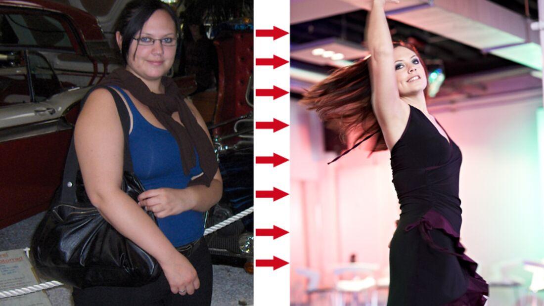 Rebecca hat 33 Kilo abgenommen
