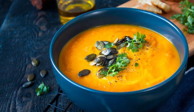Rezept für basische Kürbissuppe