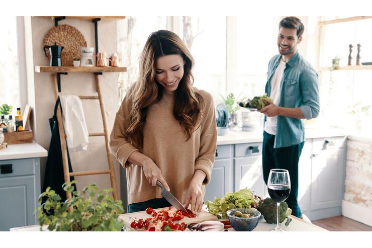 Kochrezepte, um den Bauch schlank zu machen