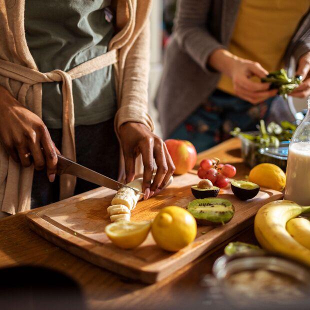 Saisonales Obst und Gemüse ist in der Yogi-Küche Pflicht