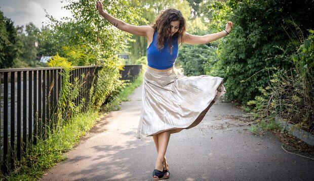 Samira Mousa hat gelernt, trotz Mutipler Sklerose ein glückliches Leben zu führen