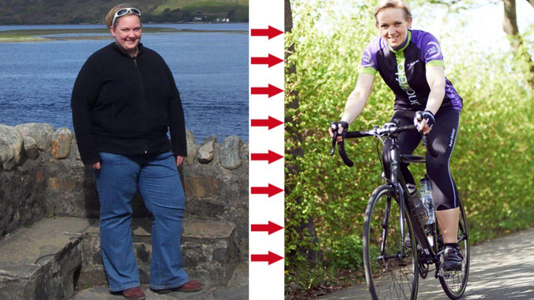 Schnell abnehmen: Clarissa hat 73 Kilo abgenommen