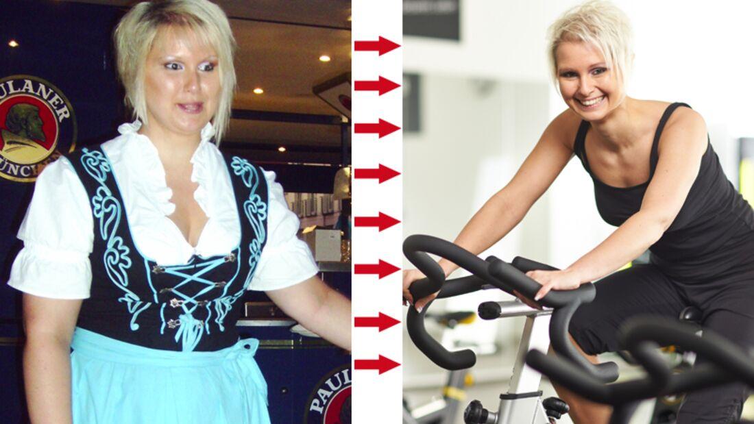 Schnell abnehmen: Nadine 32 Kilo abgenommen