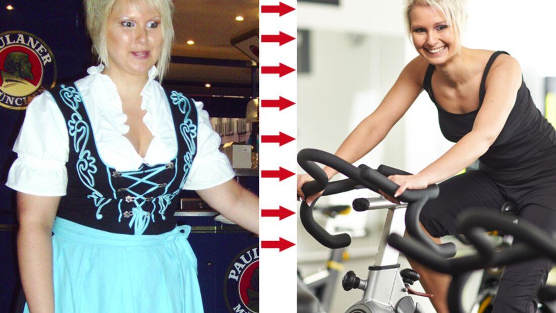 Schnell abnehmen: Nadine hat 32 Kilo abgenommen
