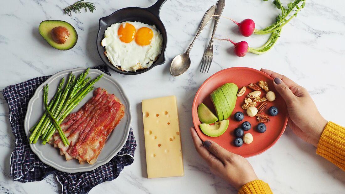 Schnupper-Ernährungsplan für die ketogene Diät