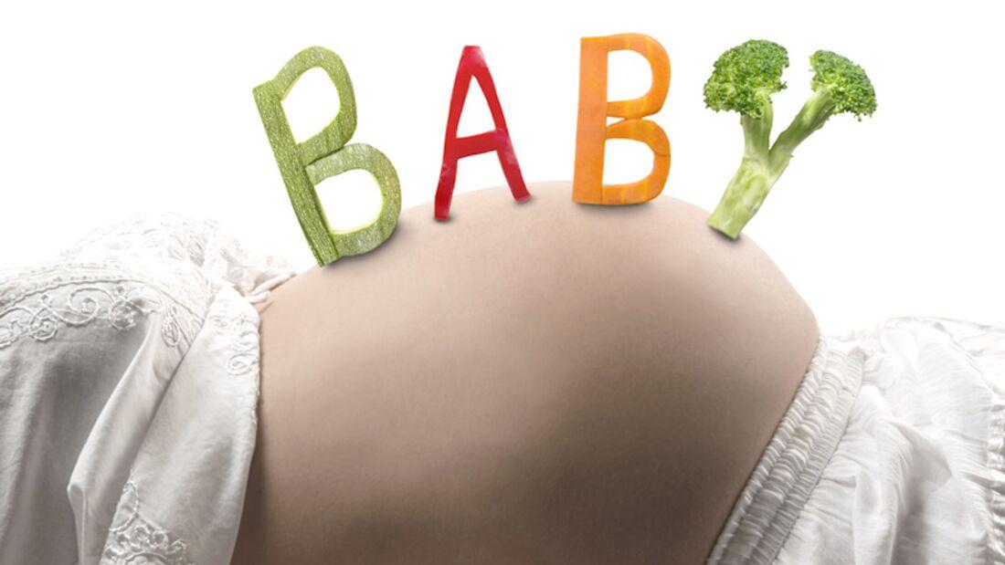 Schwangere Veganerinnen müssen auf Ihre Nährstoffzufuhr achten