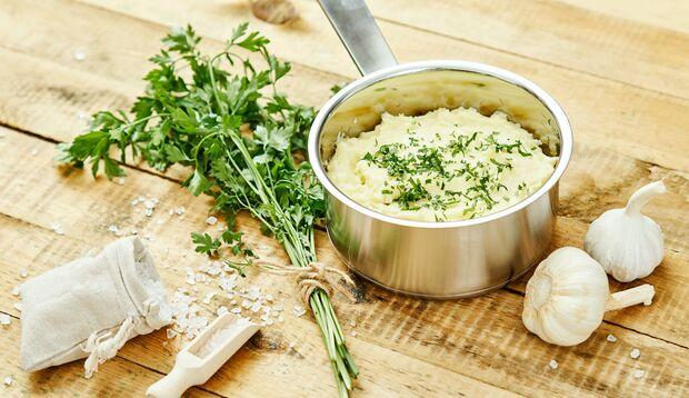 Sellerie mit Kartoffel als Stampf