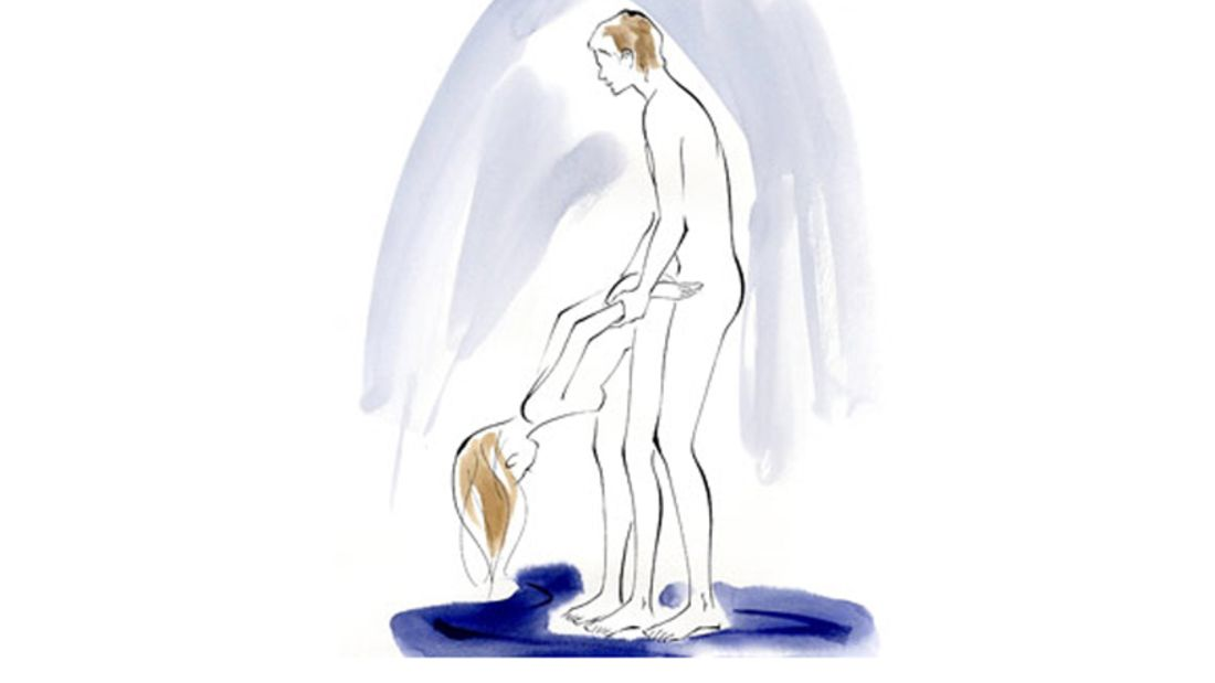 Sexstellung aus dem Kamasutra: Die Kuhstellung