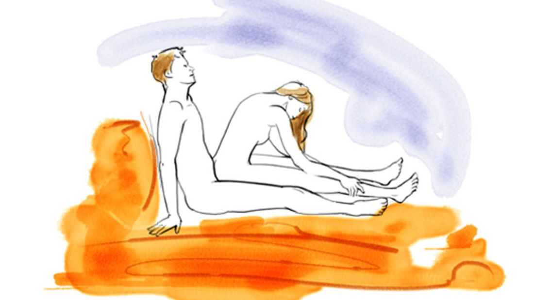 Sexstellungen aus dem Kamasutra: Das Horn des Einhorns