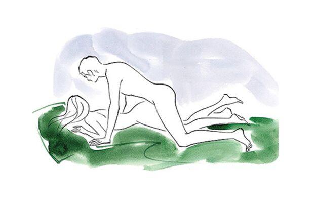 Sexstellungen aus dem Kamasutra: Der Elefant