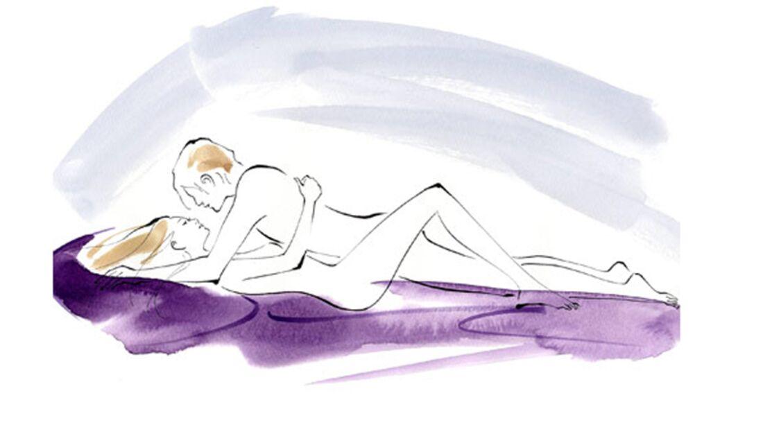 Sexstellungen aus dem Kamasutra: Die erste Position
