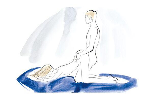 Sexstellungen aus dem Kamasutra: Die sechste Position