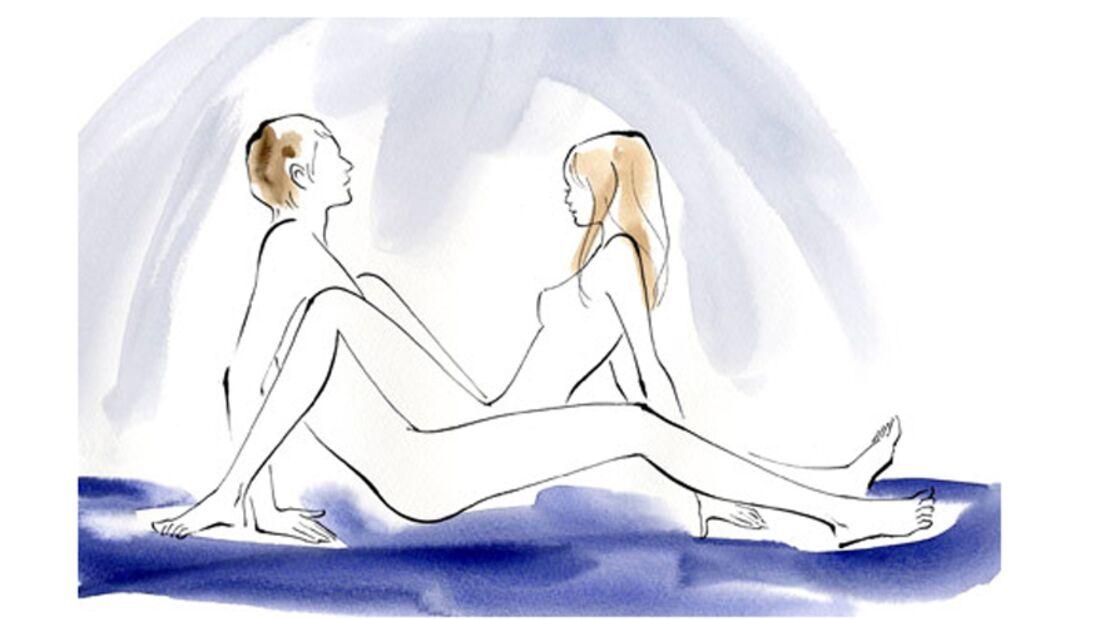 Sexstellungen aus dem Kamasutra: Kamas Rad