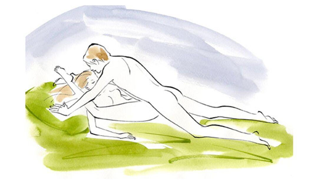Sexstellungen aus dem Kamasutra: Phönix spielt in roter Höhle