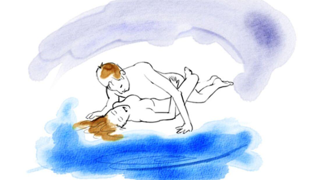 Sexstellungen aus dem Kamasutra: Verschlungen