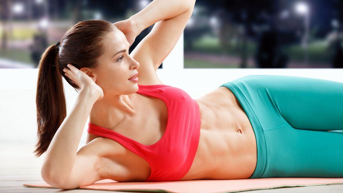 Sichtbare Bauchmuskeln
