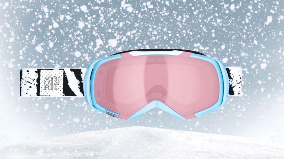 Skibrille von Atomic, zirka 100 Euro