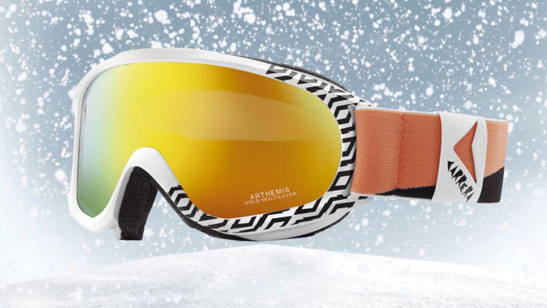 Skibrille von Carrera, zirka 50 Euro