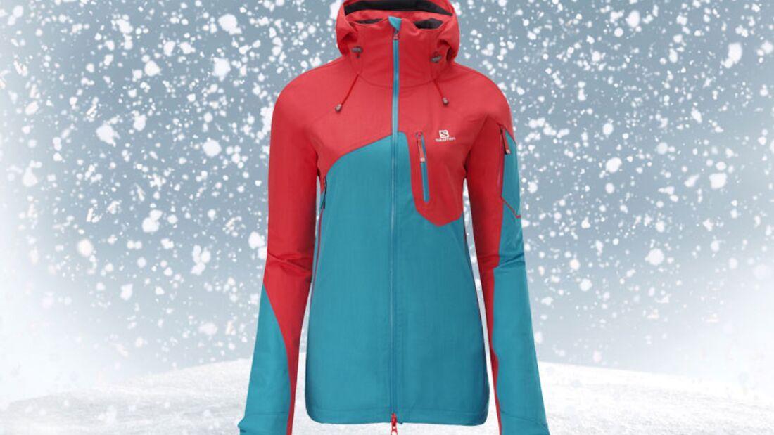 Skijacke von Salomon, zirka 380 Euro