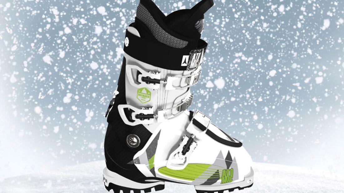 Skischuhe von Atomic, zirka 300 Euro