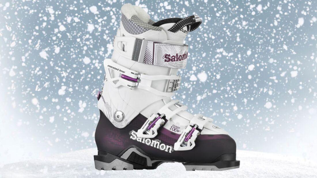 Skischuhe von Salomon, zirka 360 Euro