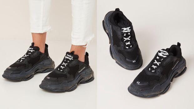 Sneaker von Baleciaga