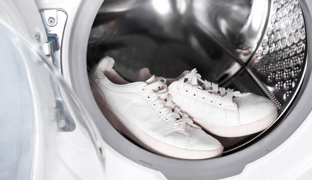 Sneakers waschen in der Waschmaschine