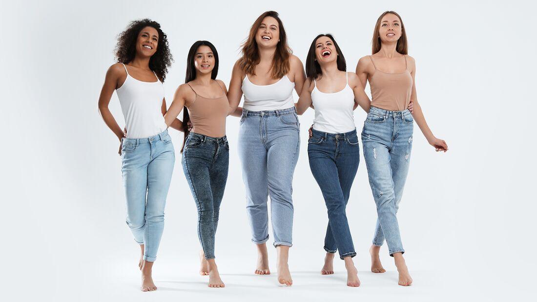 So finden Sie die perfekte Jeans für Ihre Figur