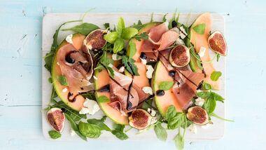 So lecker, so schnell gemacht: Melonen-Antipasti