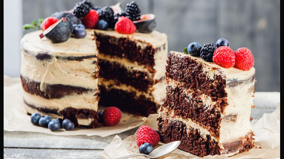 So schön und so einfach: Der  Naked Cake