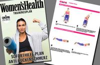 Soforthilfe-Plan Anti-Rückenschmerz