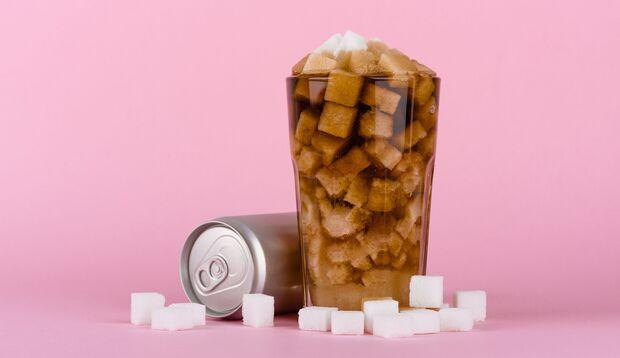 Soft-Drinks enthalten viel Zucker