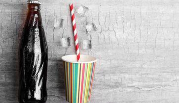 Diät-Cola, weil ich abnehmen will