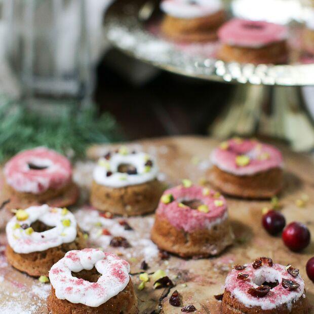 Spekulatius-Donuts