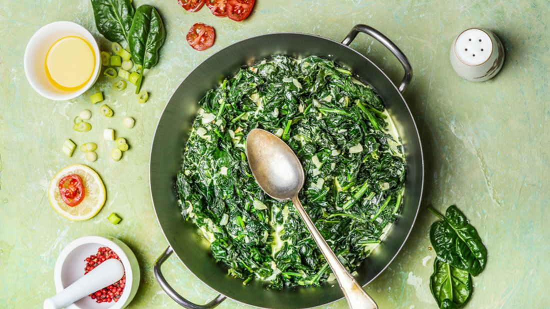 Spinat-Rezept: Lecker und abwechslungsreich