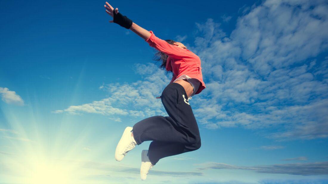 Sport ist doppelt gut: es lässt die Pfunde purzeln und ist offenbar auch ein Appetitzügler