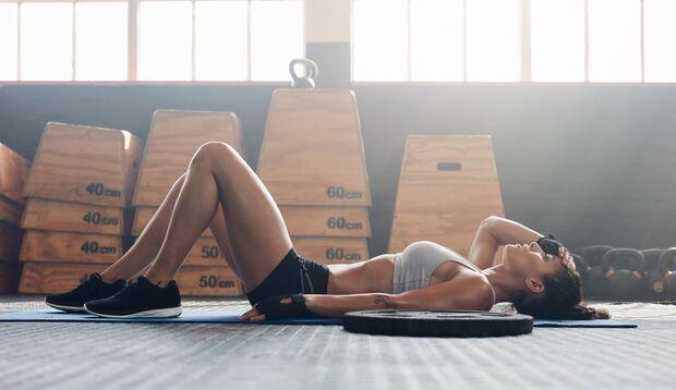 Sport kann auch Stress bedeuten