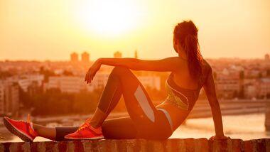 Sportbekleidung mit Style-Faktor